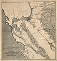 Sketch of General Riley's route through the mining districts (of California) - July and Aug. 1849 LOC 2005625304.jpg