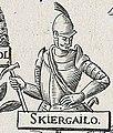 Skirgajła. Скіргайла (A. Tarasievič, 1675).jpg