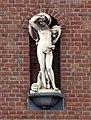 Skulptur am Haus Ulmenstraße 180, Düsseldorf-Derendorf.jpg