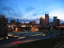 Skyline of Little Rock, Arkansas - 20050319.jpg