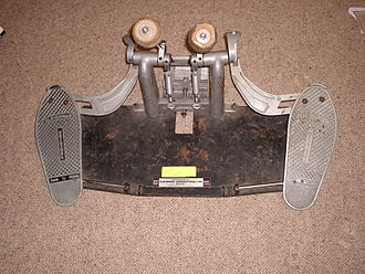 Bass drum - Original Sleishman twin pedal