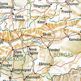 Sliwen Bulgaria 1994 CIA map.jpg