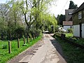 Small lane just S of the village pond - geograph.org.uk - 1246174.jpg