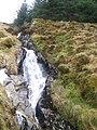 Small waterfall on the Allt a'Choin Bhain - geograph.org.uk - 1710060.jpg