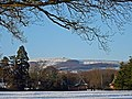 Snowy view north-west from Tredegar House Country Park - geograph.org.uk - 1654746.jpg