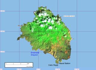 Socorro Island Small volcanic island off the west coast of Mexico
