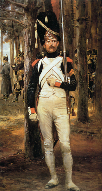 Grenadier of the Old Guard in Le Grenadier by Edouard Detaille Soldat-der-Alten-Garde.png