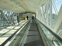 Somerset Collection skywalk Troy, Michigan shopping center.jpg