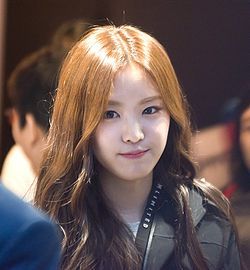 Son Naeun at M Limited fan signing, 22 August 2014 07.jpg