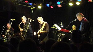 The Sonics performing at the Double Door in Chicago on February 27, 2014.