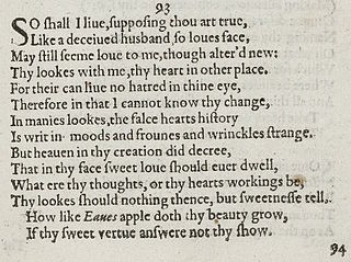 Sonnet 93 poem by William Shakespeare