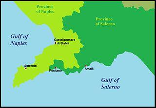 Sorrento Peninsula coast
