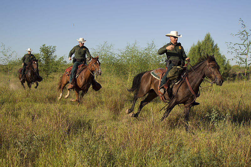 South Texas, Border Patrol Agents, McAllen Horse Patrol Unit.jpg