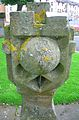 South face. Kirkhall Scottish Sundial, Ardrossan. Head - 1795.JPG