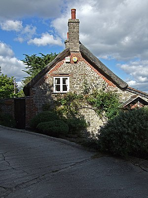 Bookham, Dorset - Image: South facing gable end of Bookham Farmhouse geograph.org.uk 560109