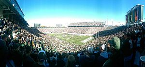 Spartan Stadium (East Lansing, Michigan) - Image: Spartan Stadium 2014