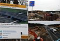 Spectacular bridgebuilding activities with the movement at 15 November 2015 of the old viaduct sideways to make place for an enlarged new one over the widened A12 motorway - panoramio.jpg