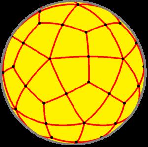Deltoidal hexecontahedron - Spherical deltoidal hexecontahedron