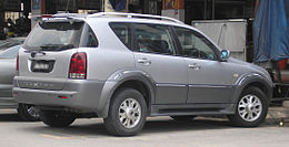 Ssangyong Rexton (first generation) (rear), Serdang.jpg