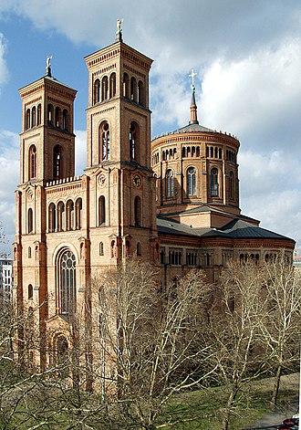 Friedrich Adler (architect) - Saint Thomas Church, Berlin.