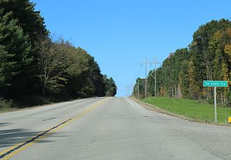 St. Croix County, Wisconsin - The sign for St. Croix County on US63