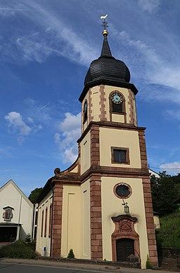 Dorfstraße in Eschau