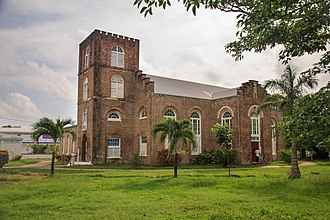 St. John's Cathedral (Belize City) - A view from south-west