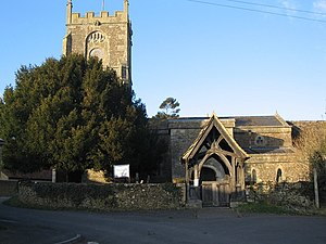 Buckland Dinham - Image: St. Michael and All Angels, Buckland Dinham geograph.org.uk 128720