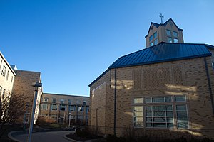 St. Xavier High School (Cincinnati) - Daily Mass is offered during lunch periods at the Holy Companions Chapel.