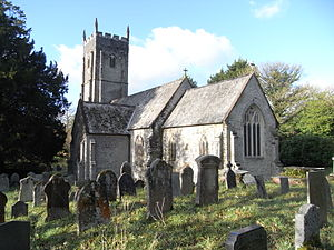 Arlington, Devon - St James's Church, Arlington, Devon, viewed from SE