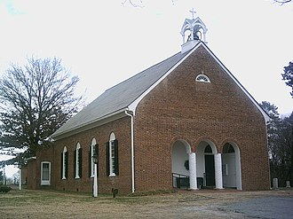 Warsaw, Virginia - St. John's Episcopal Church in Warsaw