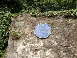 Photo of St. Patrick's Gate blue plaque
