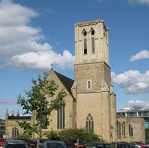 St Vincent's Quarter - St Vincent's Church, for which the area is named.