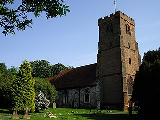North Weald - St. Andrew's Church, built in 1330AD on top of an original structure.