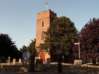 Layham village in the United Kingdom