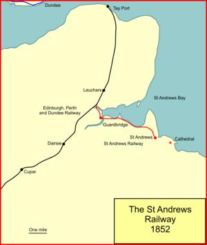The St. Andrews Railway - The St Andrews Railway