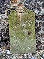 St Botolph, Hevingham, Norfolk - Bat on tombstone - geograph.org.uk - 317218.jpg