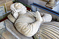 St Catherines church, Montacute - monument to Bridget Phelips (detail) (geograph 3097241).jpg
