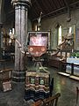 St Cuthberts Lectern listed building No.266119.jpg
