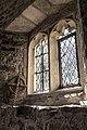 St Gwynhoedl's Church, Llangwnnadl, Tudor window.jpg