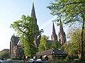 St Mary's Cathedral, Edinburgh, Episcopal, 2001.jpg