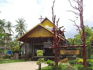 St Michaels Church, Songyae Church in Yasothon Province, Thailand