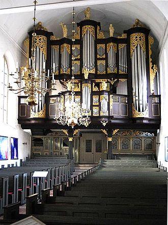 Arp Schnitger - Image: Stade Cosmae Orgel