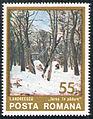 Stamp 1975 - Ion Andreescu - Iarna in padure.jpg