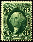 USA G. Washington stamp