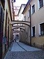 Staré Město, Průchodní, prampouchy.jpg