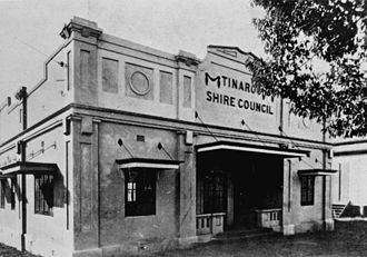 Shire of Atherton - Tinaroo Shire Council Chambers in Atherton, Queensland, 1928