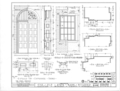 State Bank of Alabama, Decatur Branch, Bank Street and Wilson Avenue, Decatur, Morgan County, AL HABS ALA,52-DECA,1- (sheet 6 of 8).png
