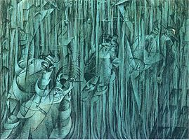 States of Mind III; Those Who Stay, by Umberto Boccioni, 1911.jpg