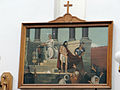 Station of the Cross in Saint Francis church in Warsaw - 01.jpg